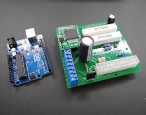 MakersToyPCRの制御基盤